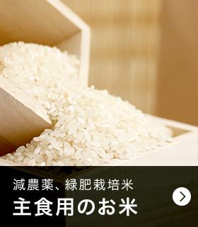 減農薬、緑肥栽培米 主食用のお米