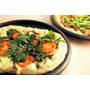 塩こんぶ・大葉・チーズのピザ